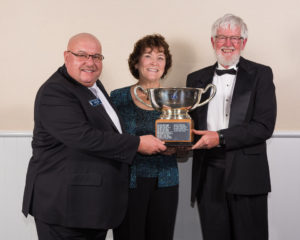 2015 George L. and Kay B. Fisher Memorial Trophy Cleve and Sandy Hardaker